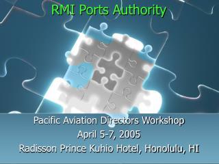 RMI Ports Authority