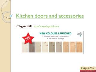 Quality kitchen doors and accessories from ClaganHill