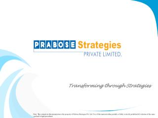 Transforming through Strategies