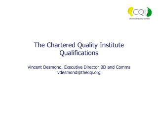 The qualifications landscape