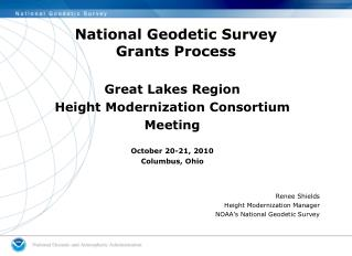 National Geodetic Survey Grants Process