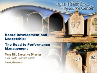 Board Development and Leadership: The Road to Performance Management
