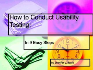 How to Conduct Usability Testing: