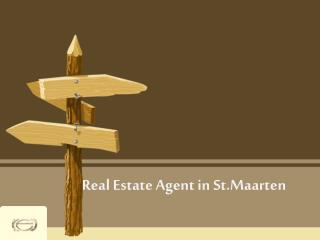 Real Estate Agent in St.Maarten