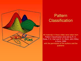 Chapter 2 (part 3) Bayesian Decision Theory (Sections 2-6,2-9)