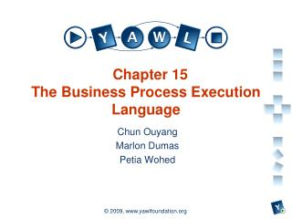 Chapter 15 The Business Process Execution Language
