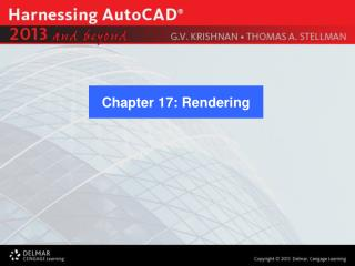 Chapter 17: Rendering