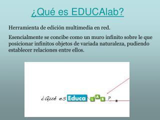 ¿Qué es EDUCAlab?