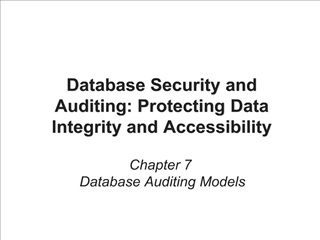 Database Security and Auditing: Protecting Data Integrity and ...
