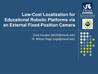Low-Cost Localization for Educational Robotic Platforms via an External Fixed-Position Camera