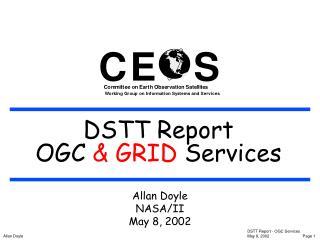 DSTT Report OGC Services