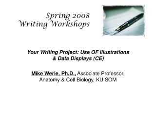 Spring 2008 Writing Workshops