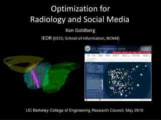 Optimization for  Radiology and Social Media
