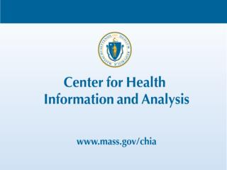 Massachusetts All-Payer Claims Database: Technical Assistance Group (TAG)  March 5, 2013