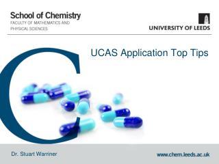 UCAS Application  Top Tips
