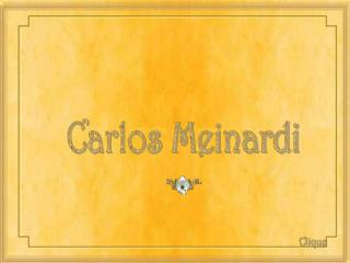 Carlos Meinardi