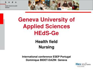 Geneva University of Applied Sciences HEdS-Ge