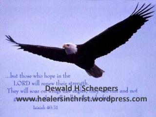 Isa 40:31  maar die wat op die HERE wag, kry nuwe krag;  hulle vaar op met vleuels soos
