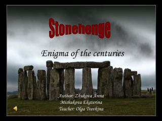 Enigma of the centuries