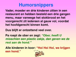 Humorsnippers