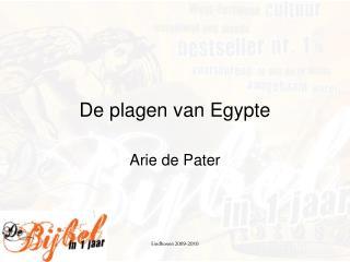 De plagen van Egypte