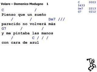 Volare – Domenico Modugno    1