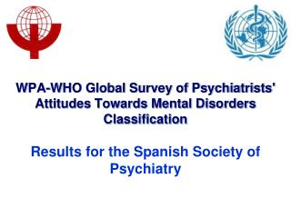 WPA-WHO Global Survey of Psychiatrists' Attitudes Towards Mental Disorders Classification
