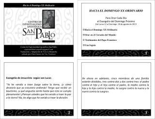 Centro de Espiritualidad Apostólica San Pablo espiritualidad.sanpablo@gmail.com