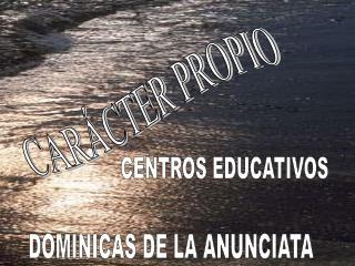 CAR�CTER PROPIO