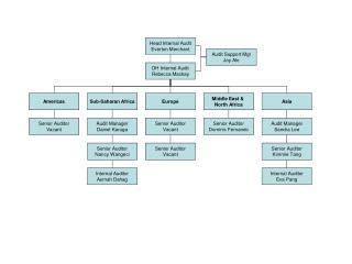Head Internal Audit Everton Merchant