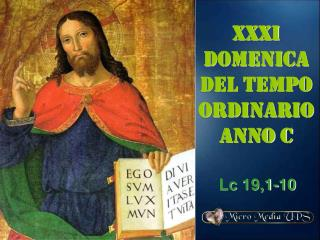 XXxi  DOMENICA DEL TEMPO ORDINARIO ANNO C