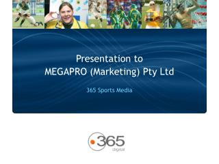 MEGAPRO (Marketing) Pty Ltd