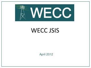 WECC JSIS