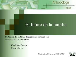 El futuro de la familia