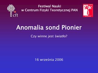 Anomalia sond Pionier