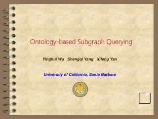 Ontology-based Subgraph Querying