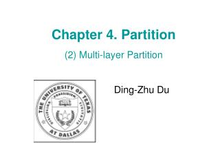 Chapter 4. Partition