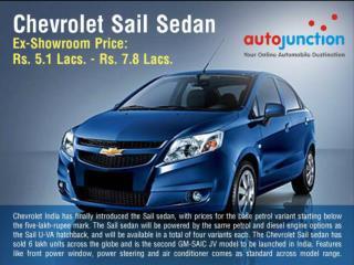 Chevrolet Sail Sedan 1
