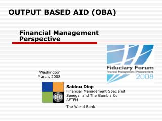 OUTPUT BASED AID (OBA)