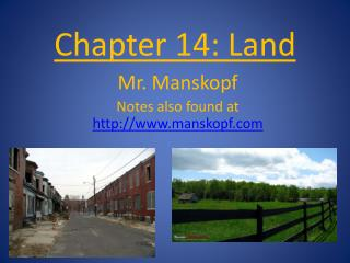 Chapter 14: Land