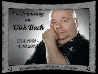 Zur Erinnerung an Dirk Bach