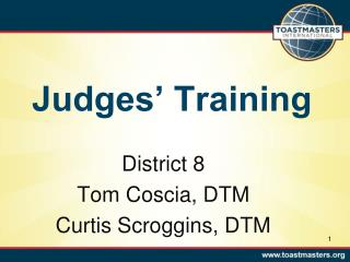 Judges' Training