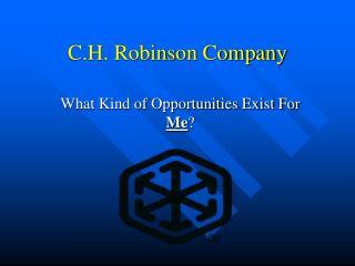 C.H. Robinson Company