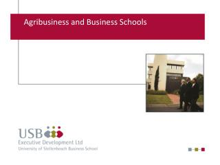 Agribusiness and Business Schools