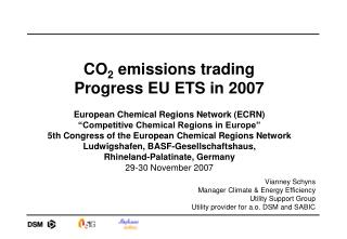 CO 2  emissions trading  Progress EU ETS in 2007