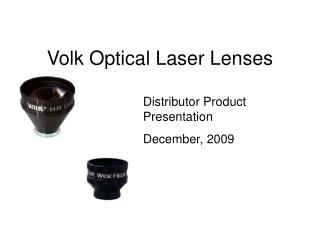 Volk Optical Laser Lenses