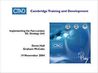 Cambridge Training and Development