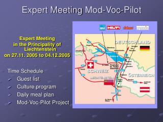 Expert Meeting  Mod-Voc-Pilot