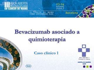 Bevacizumab asociado a quimioterapia