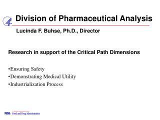 Division of Pharmaceutical Analysis